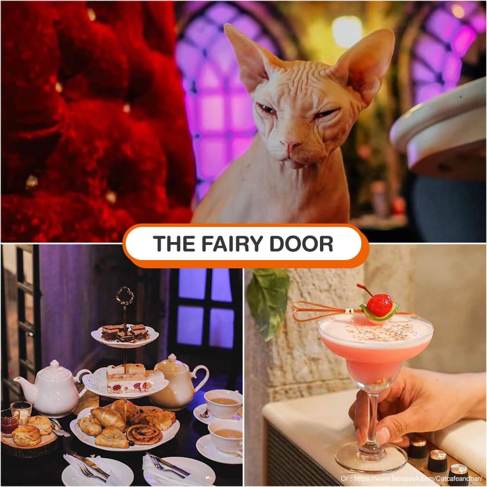 คาเฟ่แมว The Fairy Door