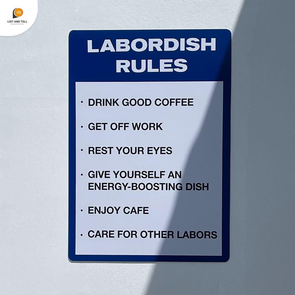 Labordish
